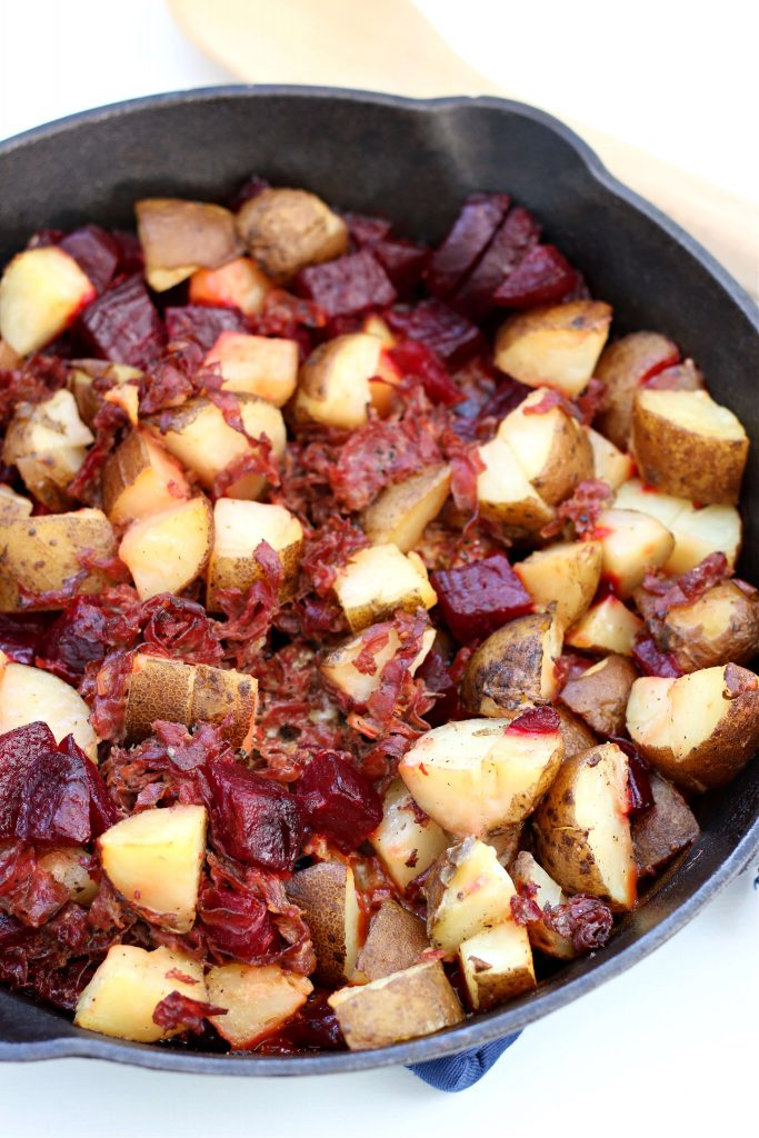 Instant Pot Red Flannel Hash
