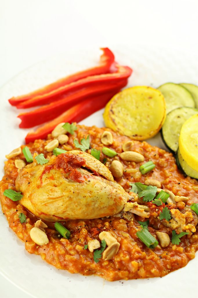 Instant Pot Butter Chicken Rice