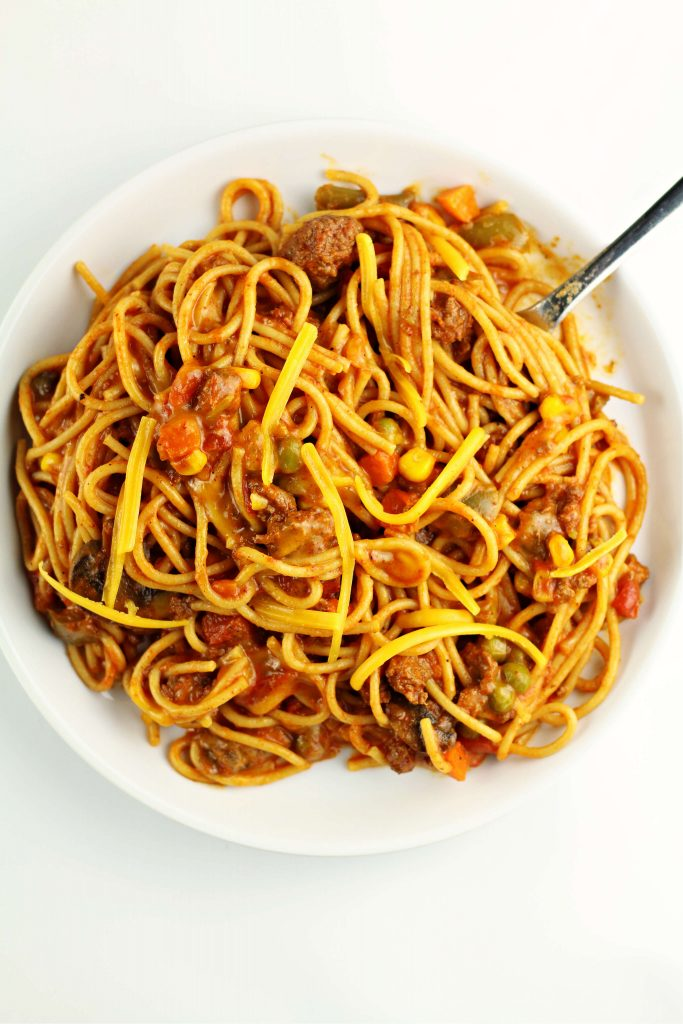 Instant Pot Church Supper Spaghetti