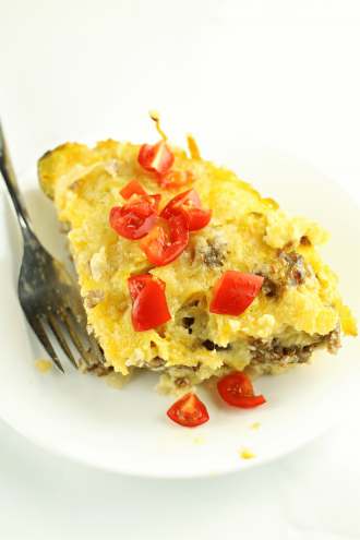 Instant Pot Impossibly Easy Cheeseburger Pie