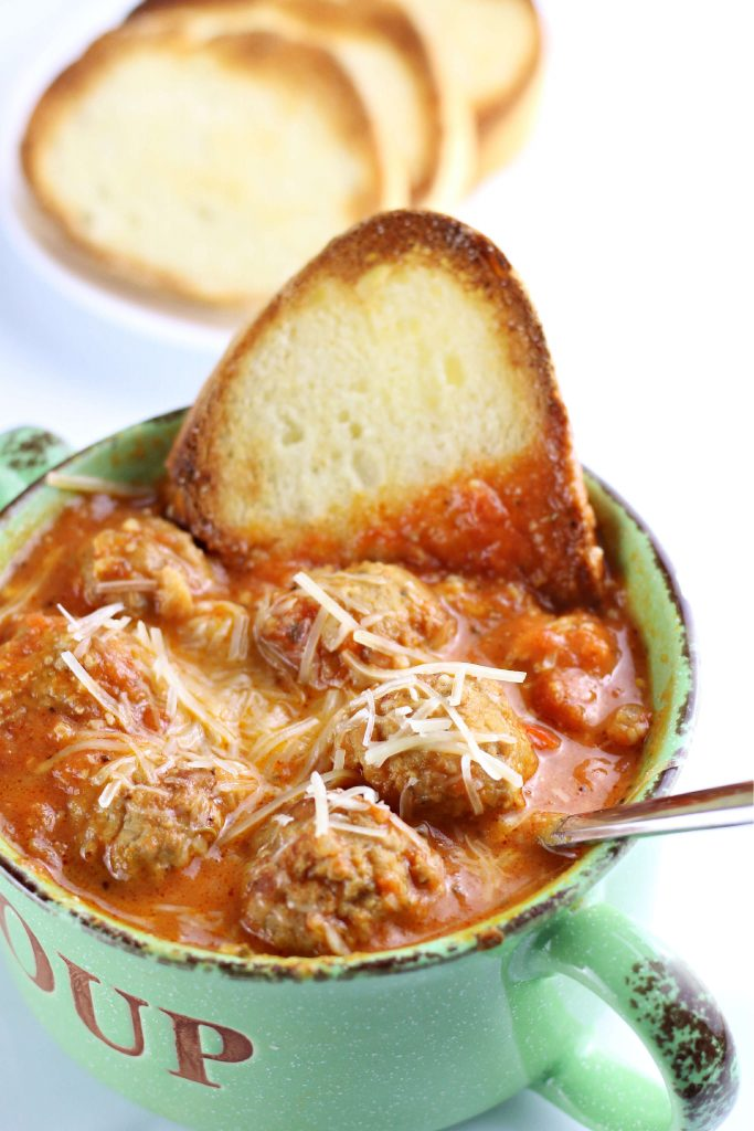 Instant Pot Meatball Sub Soup