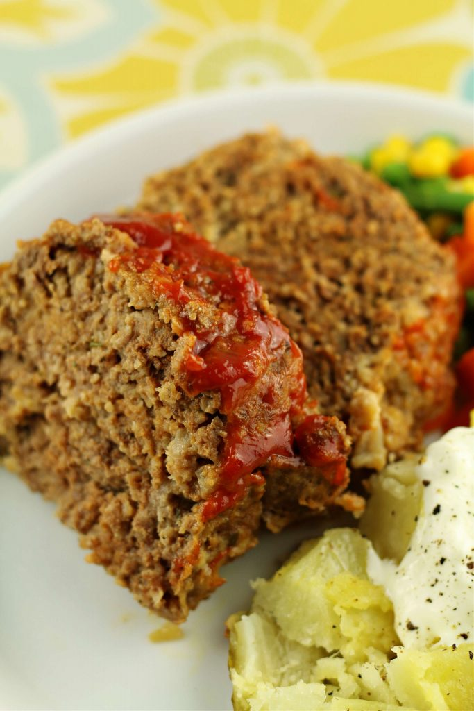 Instant Pot Traditional Meatloaf