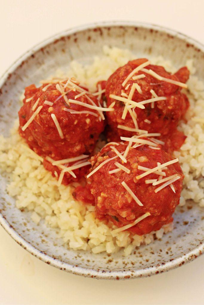 Instant Pot Great Grandma's Italian Meatballs