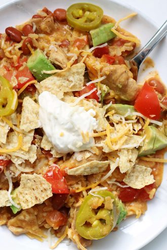Instant Pot Nacho Chicken