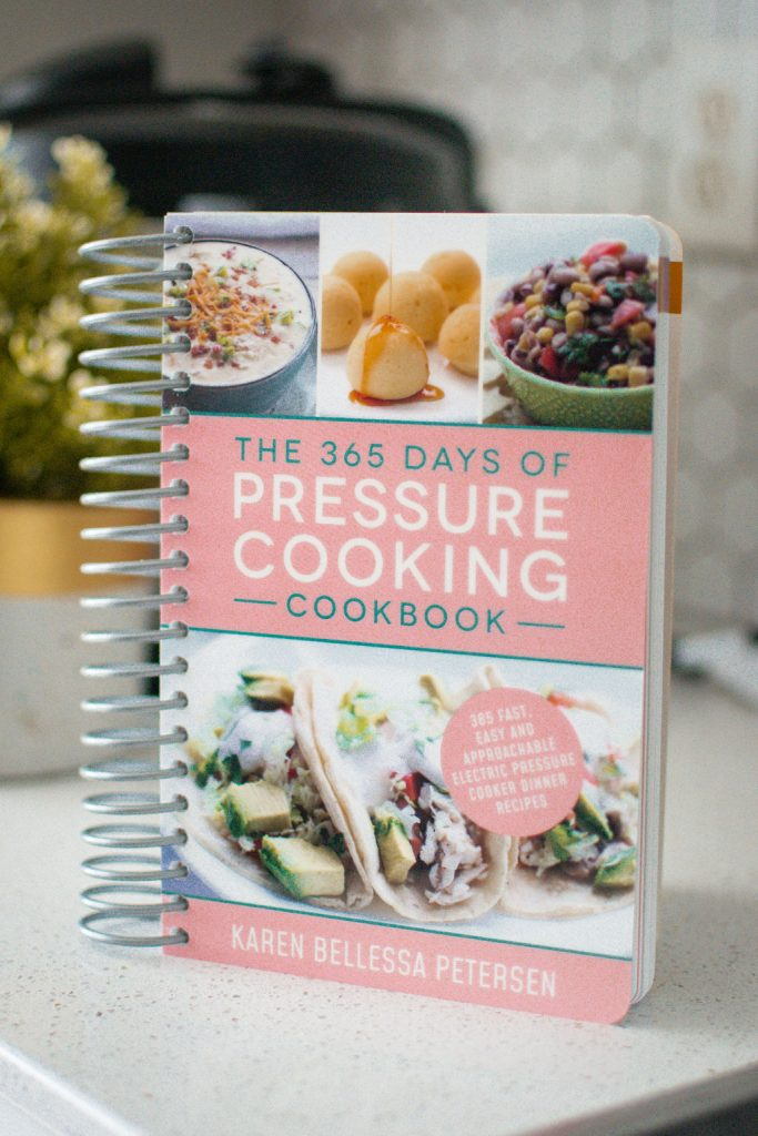 Order your copy of The 365 Days of Pressure Cooking Cookbook!
