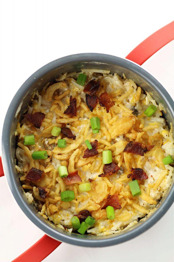 instant pot hashbrown brunch casserole