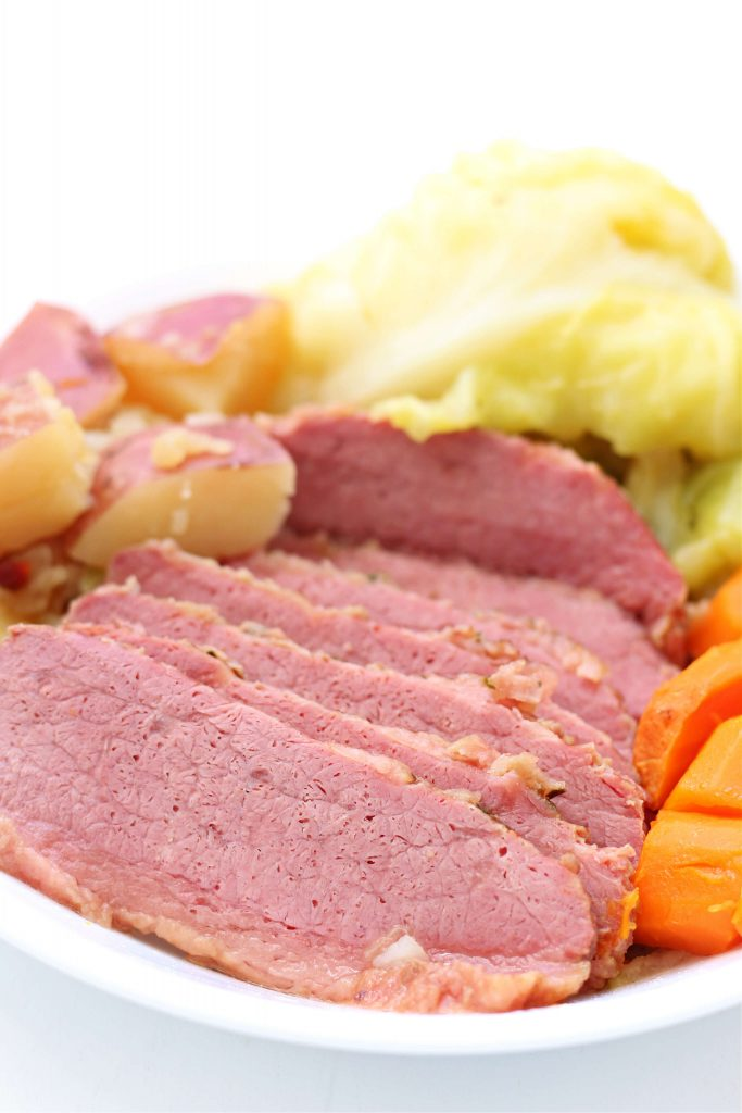 Instant Pot St. Patty's Day Corned Beef and Cabbage