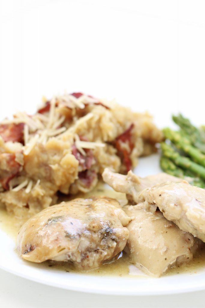 Instant Pot Garlic Butter Chicken