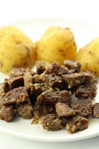 Instant Pot Garlic Butter Steak Bites