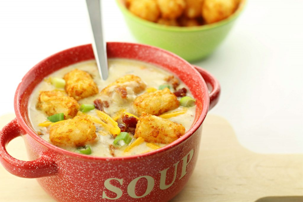 tater tot soup recipe in your instant pot