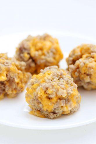 3-Ingredient Ryan Seacrest's Sausage Balls