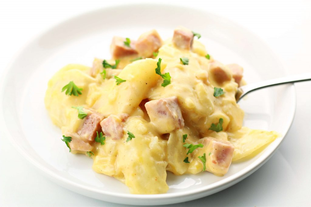 Instant Pot Scalloped Potatoes and Ham