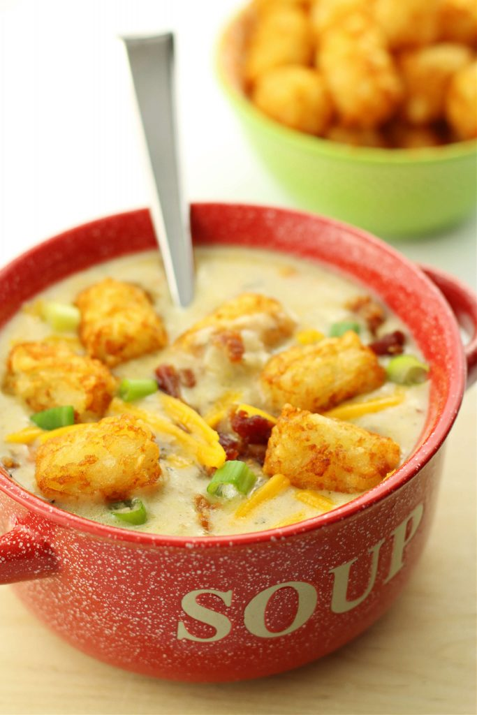 tater tot soup instant pot recipe