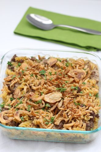 Instant Pot French Onion Beef Casserole