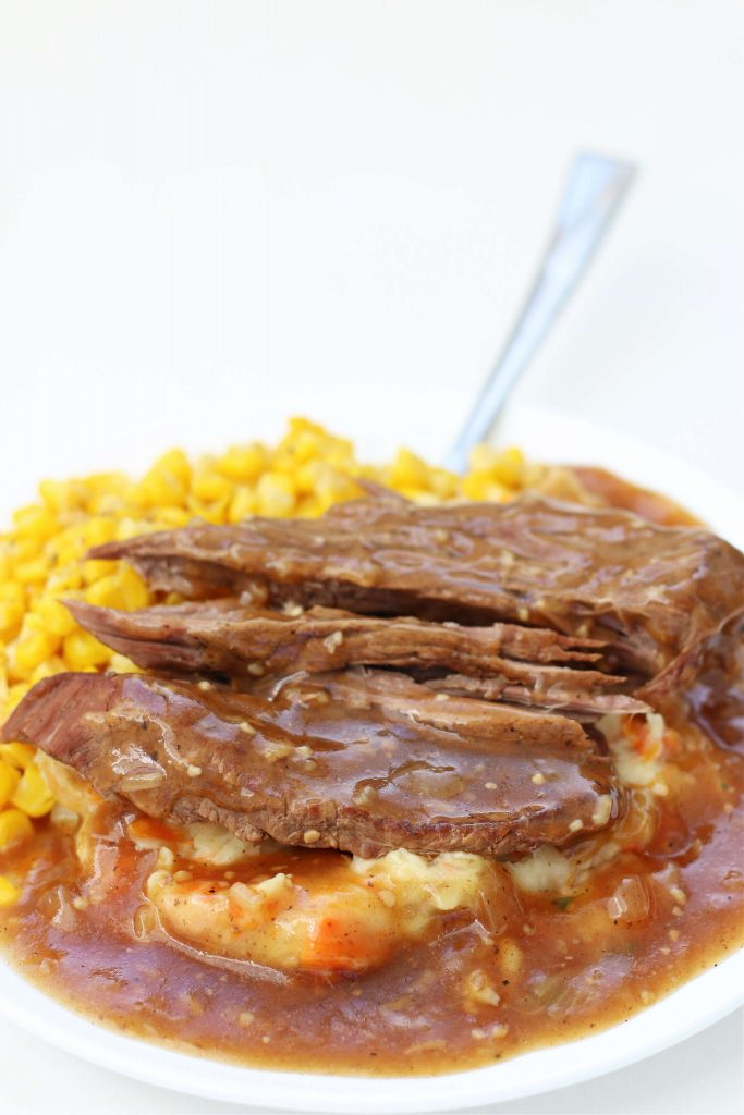 Instant Pot Round Steak and Gravy