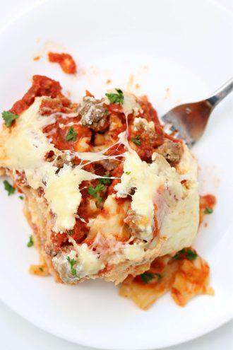 Instant Pot Cowboy Lasagna