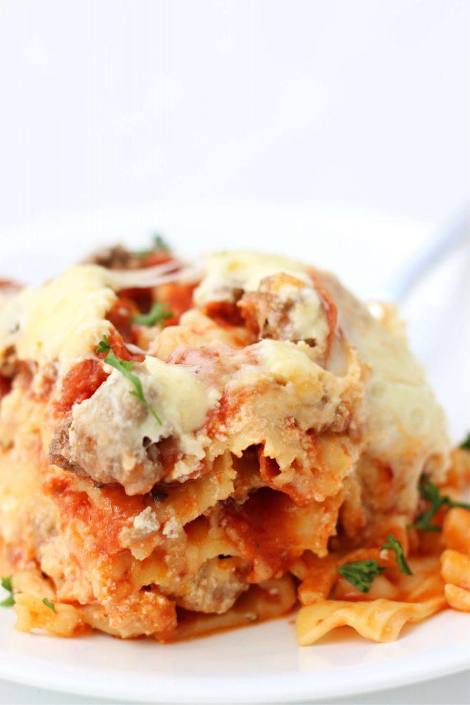 easy no boil lasagna