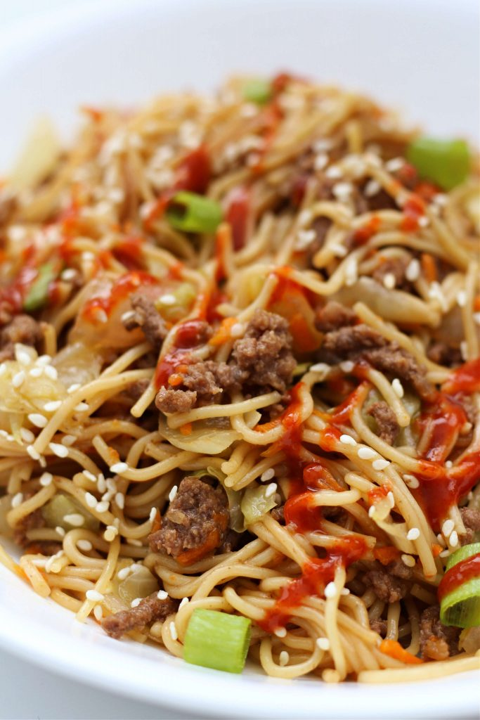 Instant Pot Hoisin Beef Noodles