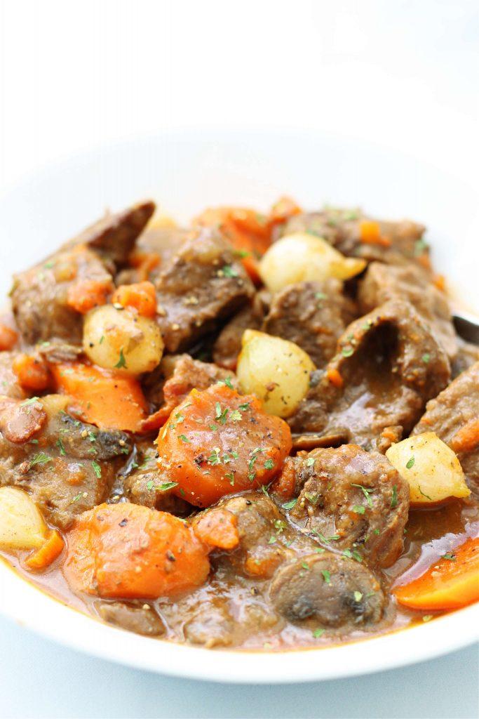 Instant Pot Julia Child's Beef Bourguignon