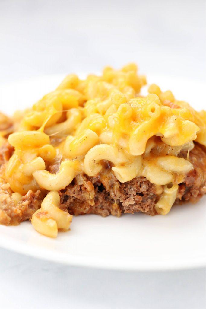 meatloaf macaroni casserole
