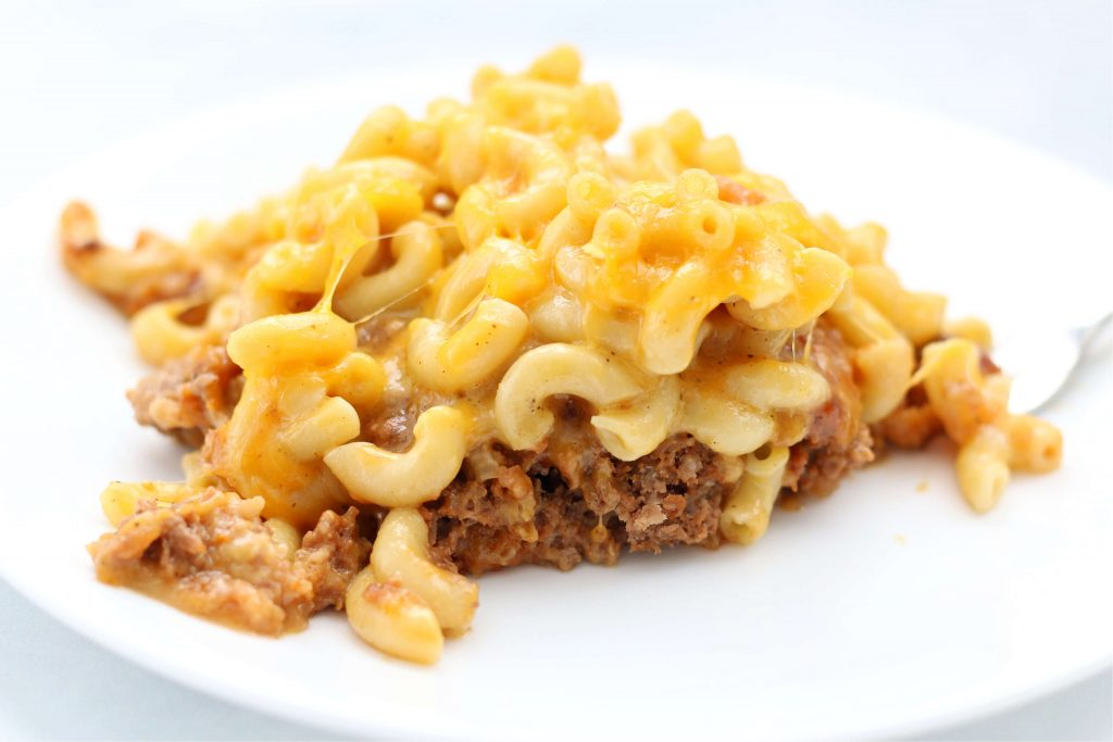 meatloaf macaroni and cheese casserole