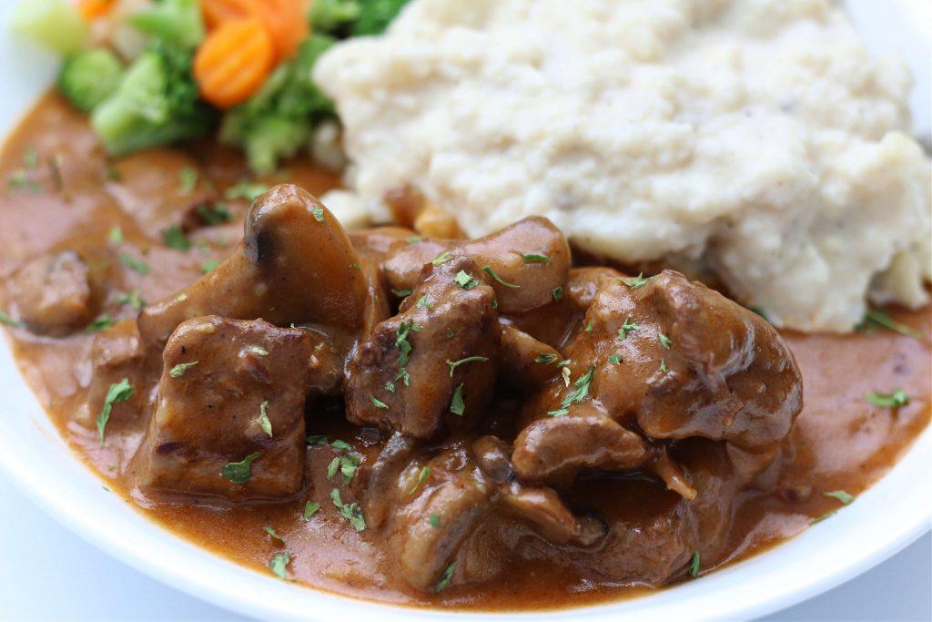 Instant Pot Steak Diane Casserole