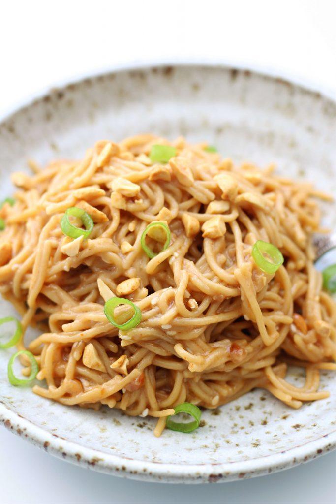 Instant Pot Peanut Noodles